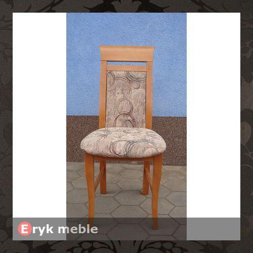 Krzesło drewniane ADA prosta