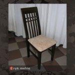 Krzesło drewniane HAKE ścinany kratka