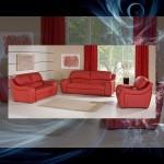 Rozkładany, tapicerowany zestaw wypoczynkowy Sydney, składający się z sofy 2-miejscowej i fotela.