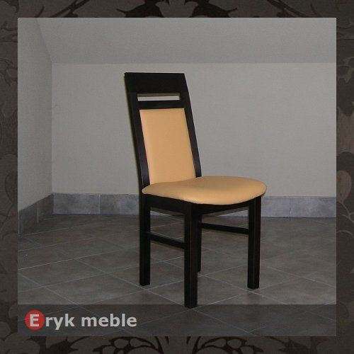 Krzesło drewniane HAKE ścinany