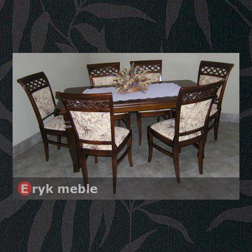 Stół drewniany ANDRZEJ 2 + krzesła drewniane FELIX.M