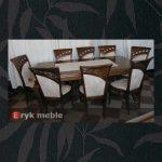 Stół drewniany ANDRZEJ 3 + krzesła drewniane BORA.M