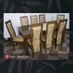 Stół drewniany WOJTEK + krzesła drewniane KANZAS