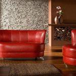 Zestaw wypoczynkowy MEXICO, sofa + fotel