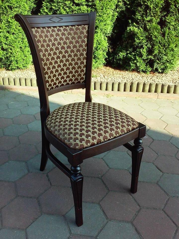 Krzesło drewniane ARES