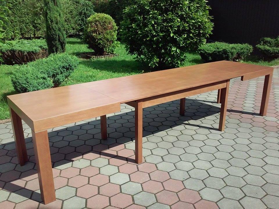 Stół drewniany WOJTEK na ośmiu nogach