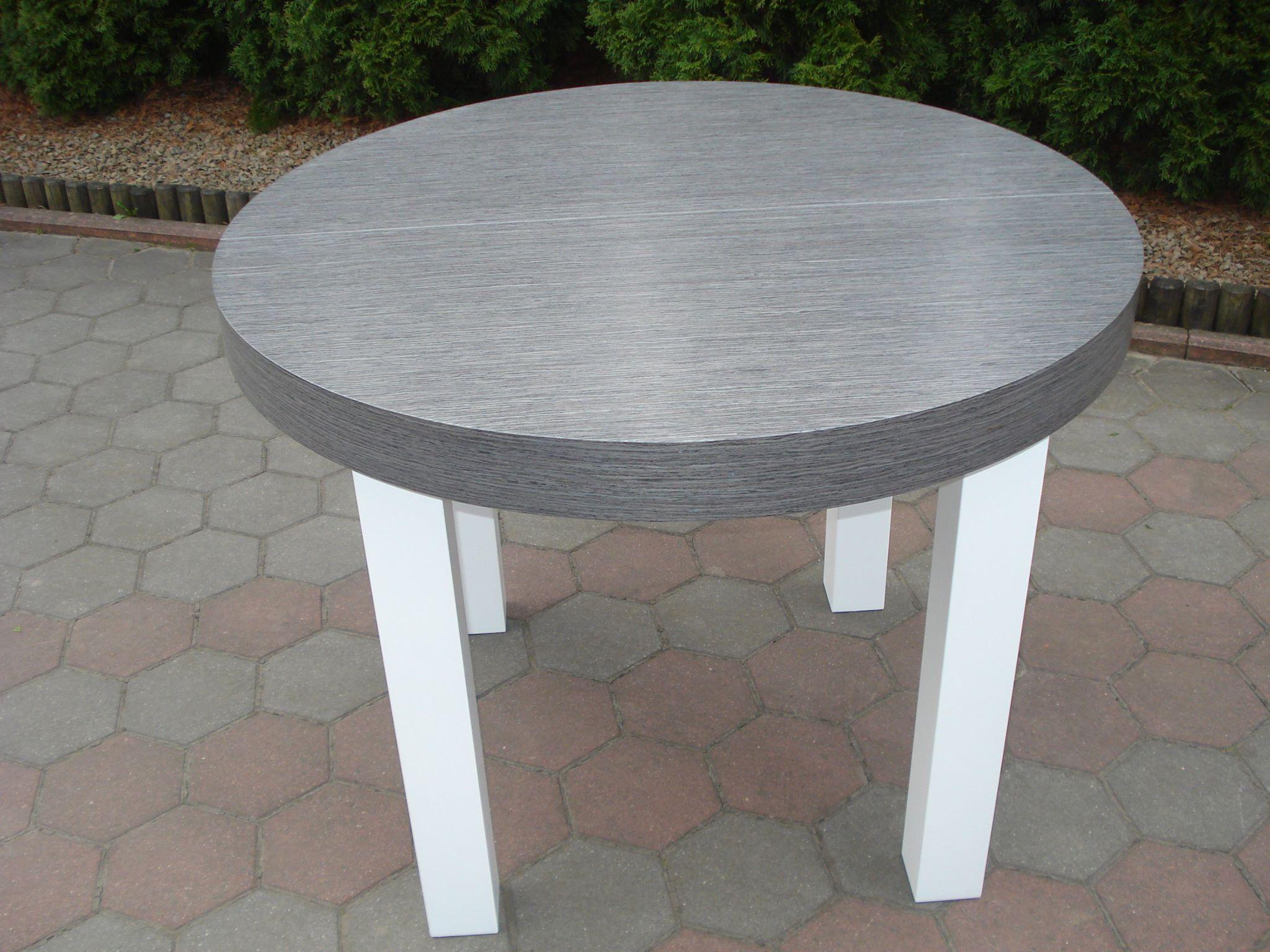 Stół drewniany OKRĄGŁY