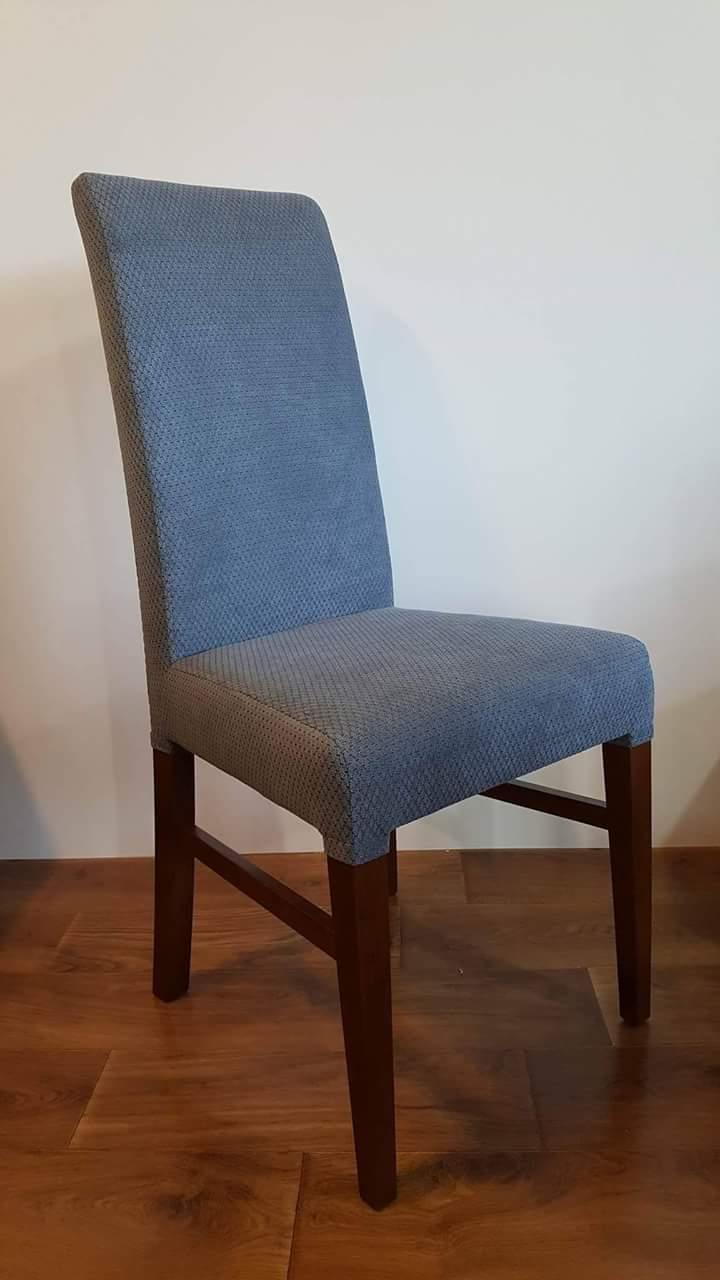 Krzesło drewniane KOMINEK materiałowy