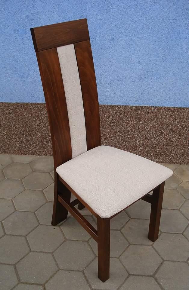 Krzesło drewniane MAŁYSZ wysoki