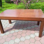 Stół drewniany WOJTEK frezowany